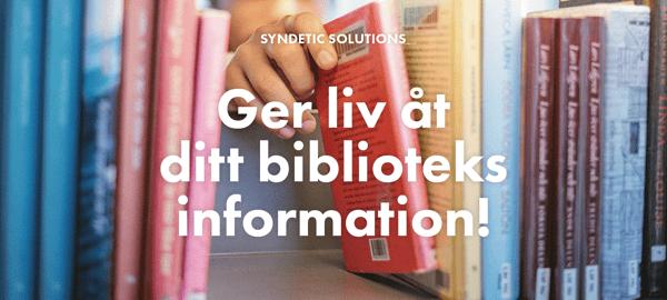 Syndetic Solutions -ger liv åt ditt biblioteks information!