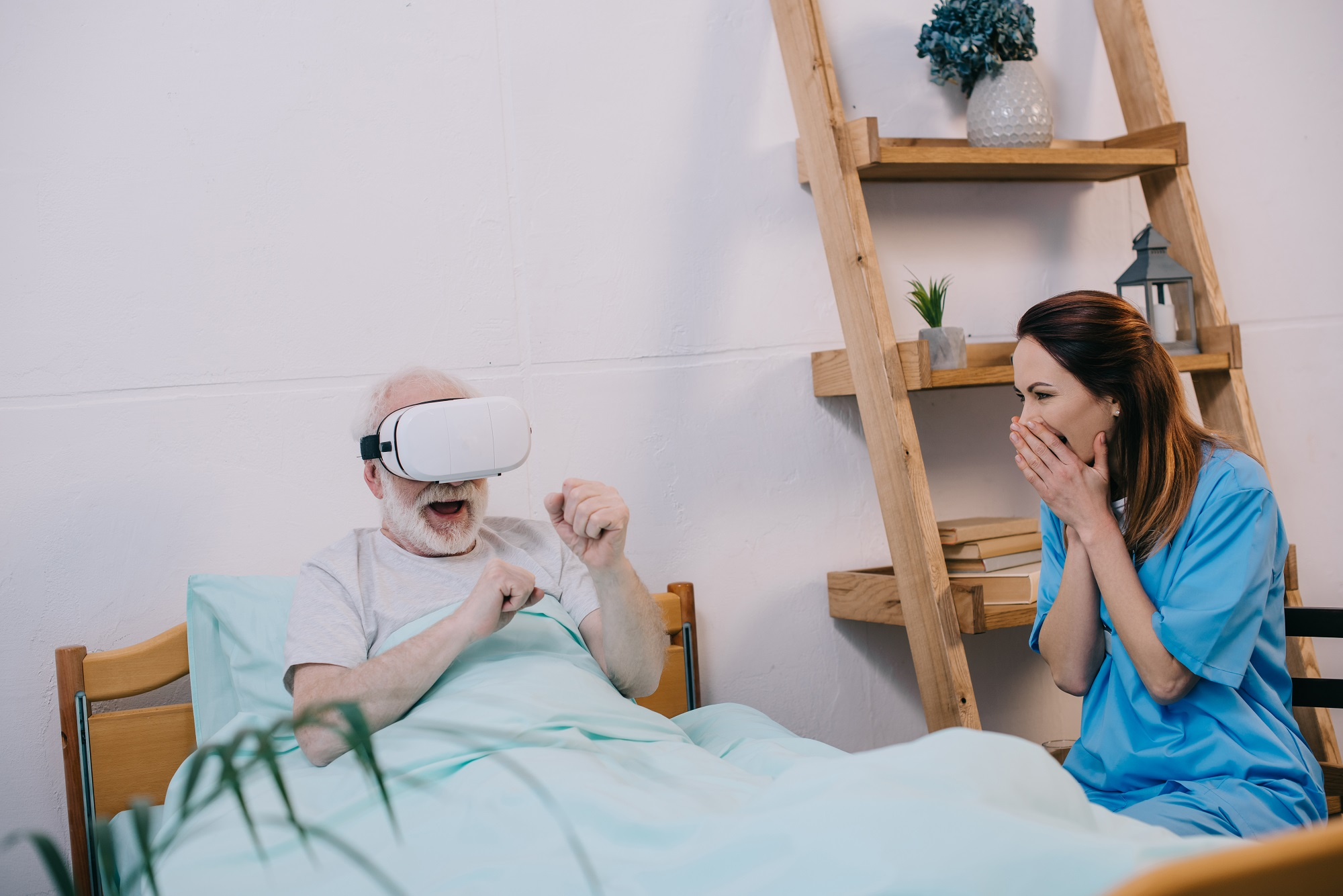 How Virtual Reality Can Be Used For Palliation, Allaying Anxiety, and Distraction Away from Pain