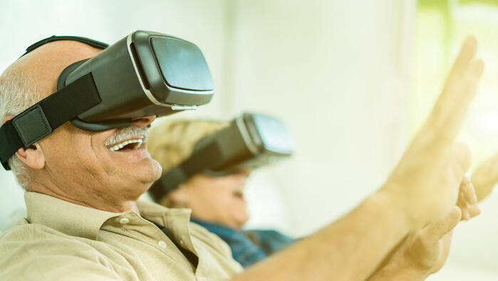 How VR Can Be Used in a Care Home Setting for People with Dementia