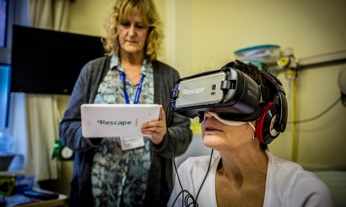 Using Virtual Reality in the Healthcare Industry