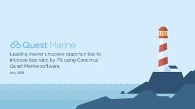 Quest Marine uncovers insights to improve marine loss ratio by 7%