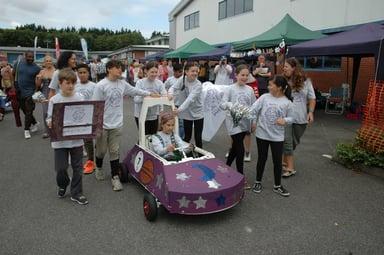 Concirrus sponsor St Philips Primary School in 2019 Uckfield Mini Grand Prix