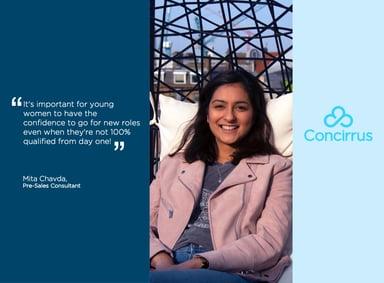 Concirrus' Women In Tech - Meet Mita Chavda