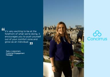 Concirrus' Women In Tech - Meet Satu Lipponen