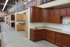 Countertops and laminate countertops in stock in orange for Builders warehouse kitchen cabinets