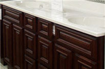 Bathroom vanities and bathroom sink tops in stock in Orange County CA