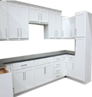 Shaker White Kitchen Cabinets In Stock resized 190