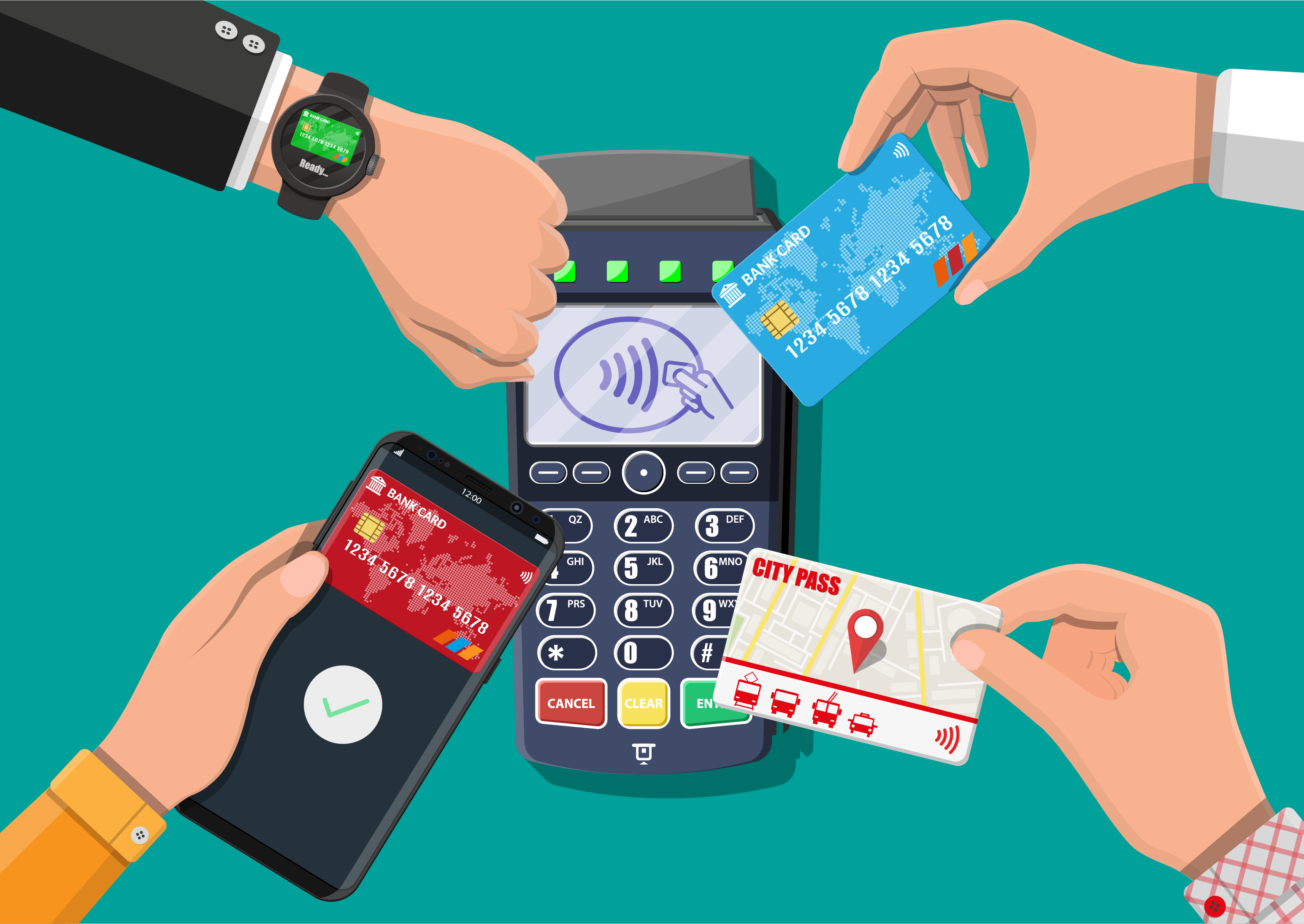 What are contactless payments and how do they work?