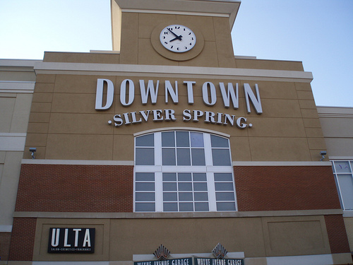 Downtown Silver Spring Gets Makeover