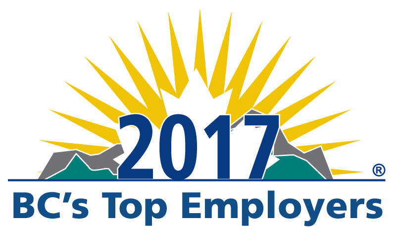 B.C.'s Top Employers for 2017