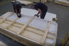 The Story of Export Packing 650 Decorative Plaster Lengths