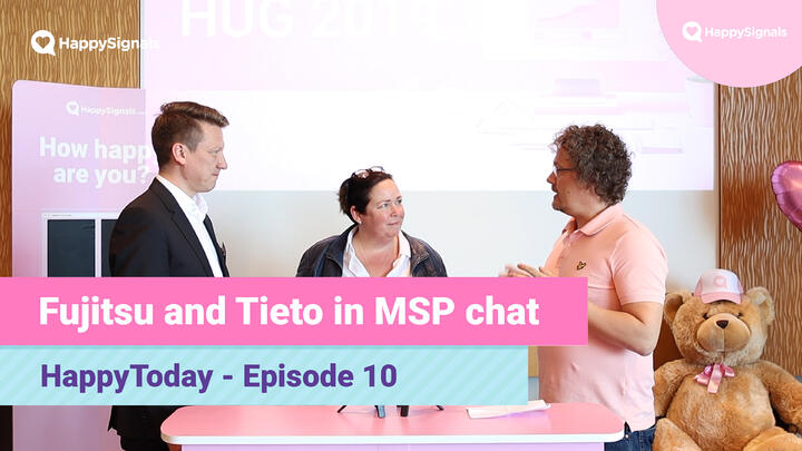10. Fujitsu and Tieto, discussion on MSPs and changing world of outsourcing