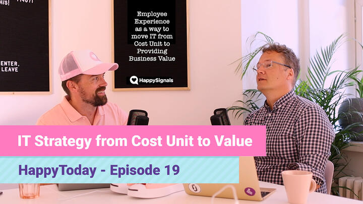 19.From IT Cost to Business Value using Employee Experience