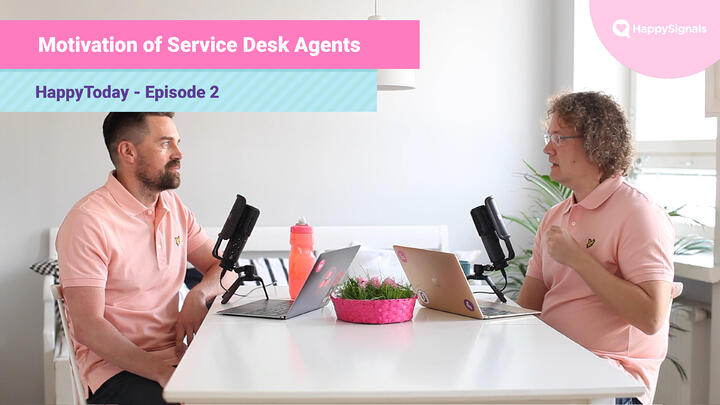 2. Motivation of Service Desk Agents