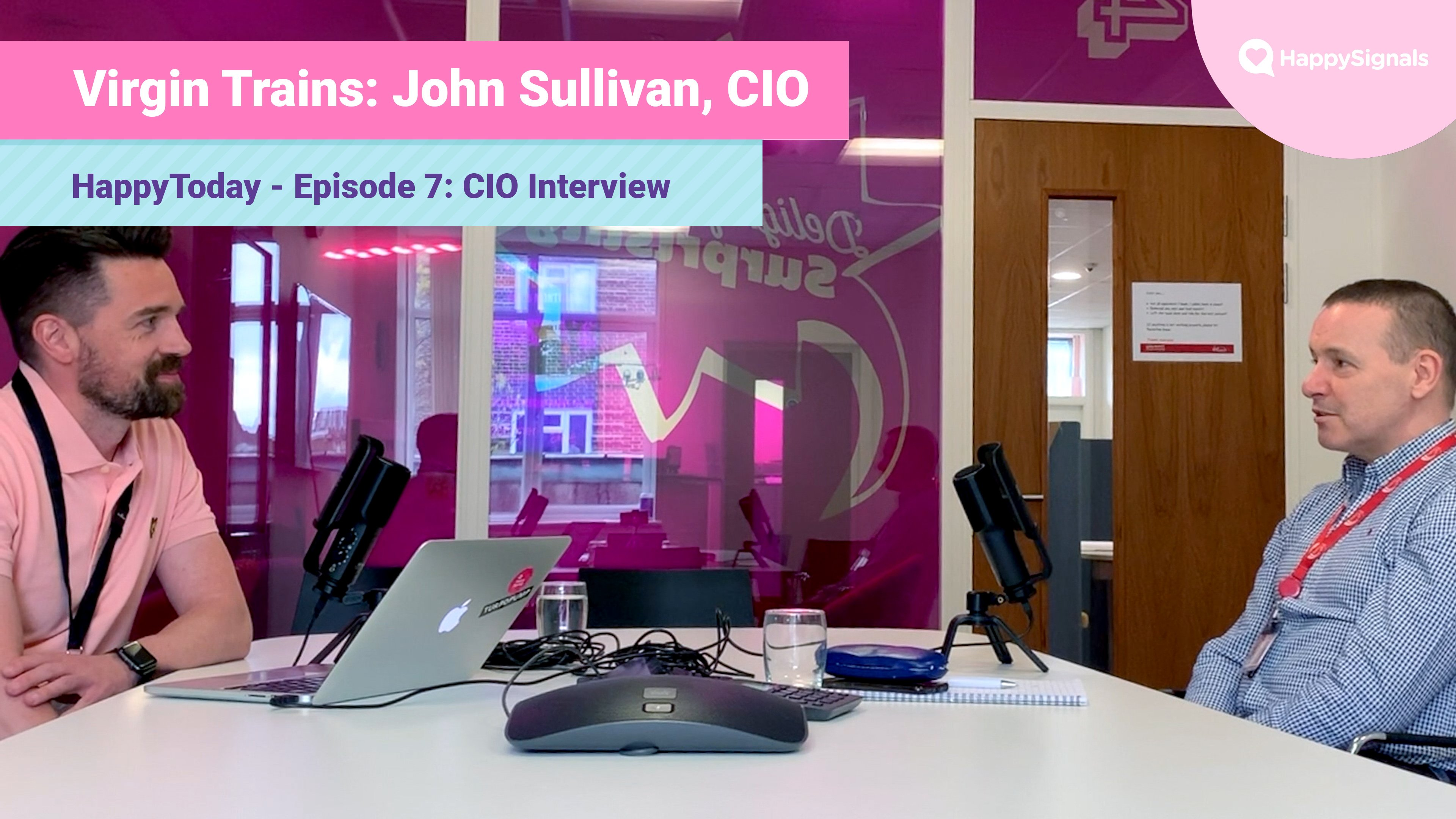 7. CIO Interview: John Sullivan, Virgin Trains