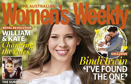 As seen in Women's Weekly