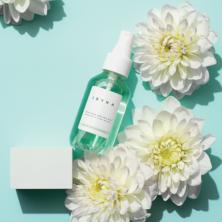 Mist your skin pretty with a glow mist