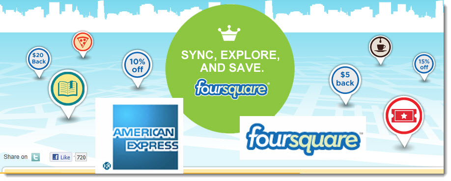 foursquare americanexpress