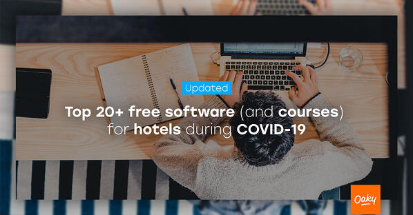 Free Software & Courses for Hotels during COVID-19