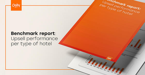 How much revenue can hotels generate from upselling? [Free benchmark report]