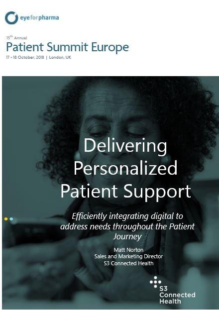 Matt Norton- Delivering Personalized Patient Support