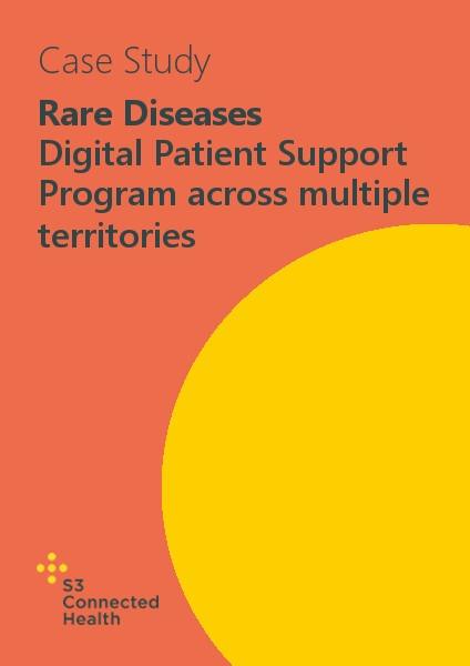 Rare Diseases – Digital Patient Support Program across multiple territories