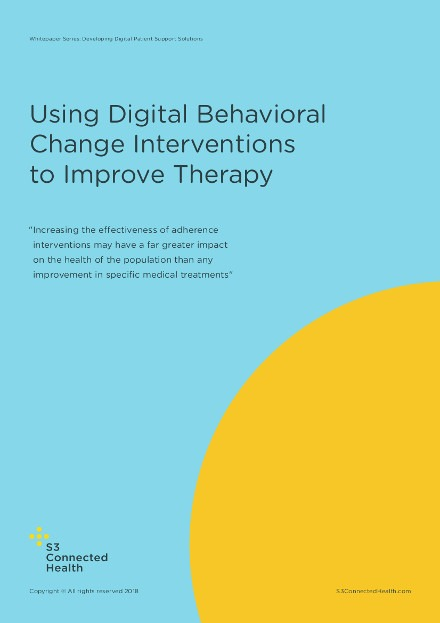 Whitepaper – Using Digital Behavioral Change Interventions to Improve Therapy Adherence