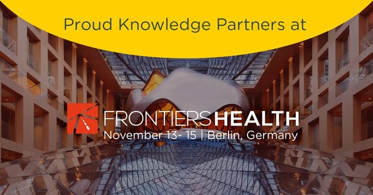 Frontiers Health 2019 - Berlin 13-15 November
