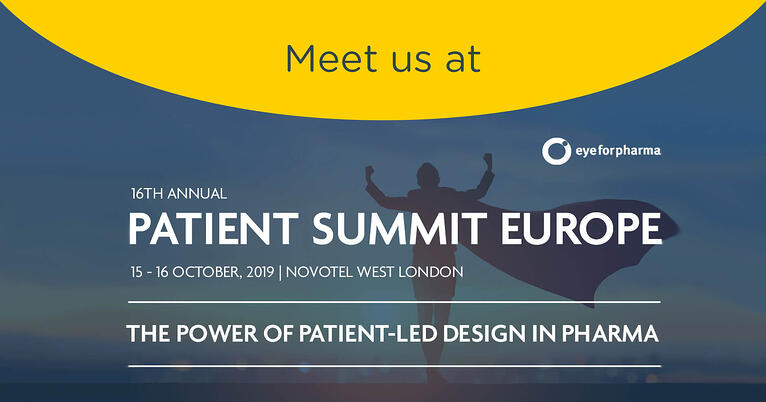 eyeforpharma Patient Summit Europe – London 15-16 October