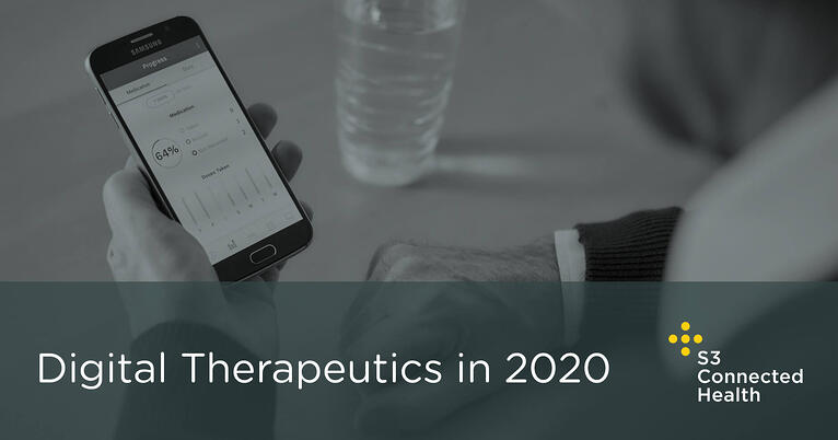 Digital Therapeutics (DTx) in 2020