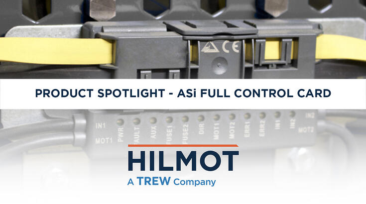 Our H-20 ASi Full Control motor card provides the ultimate dexterity and flexibility of system-level PLC (Programmable Logic Controller) zone control
