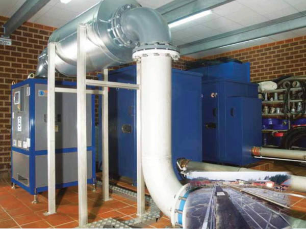 Aerzen Turbo Blower and PD Blower WWTP