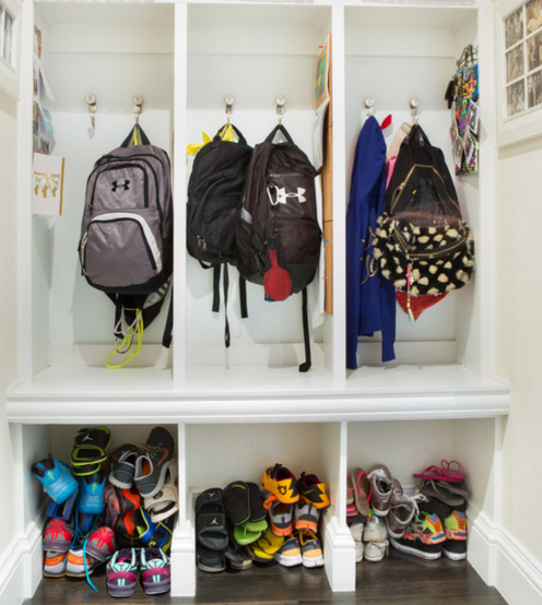 Back to School: Do you have a Mudroom?