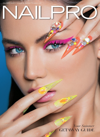 Nailpro Magazine: Ready, tech, go!