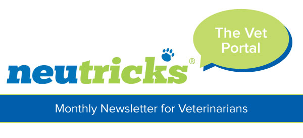 The Vet Portal - a monthly newsletter from Neutricks for veterinarians