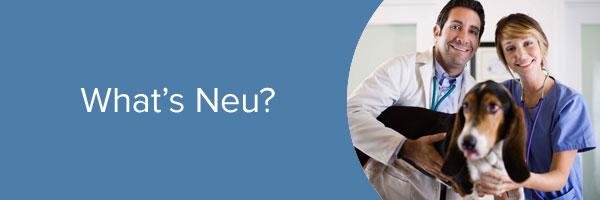 What's Neu?  The Neutricks Vet Portal!