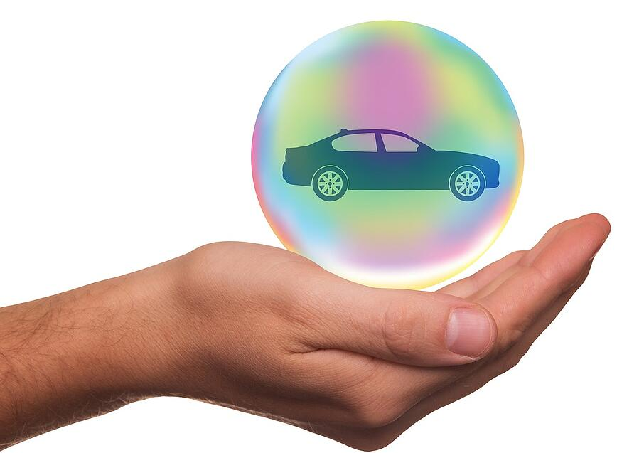 Blog_Car in bubble_safety