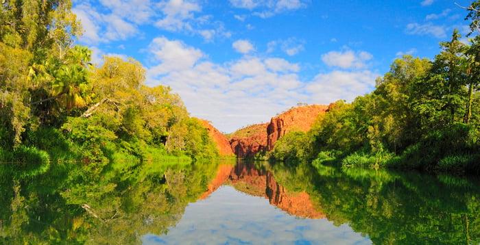 lawn hill gorge australia