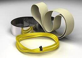 oil skimming belts and tubes