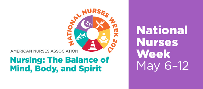 NURSES WEEK 2017: HEAL THYSELVES!