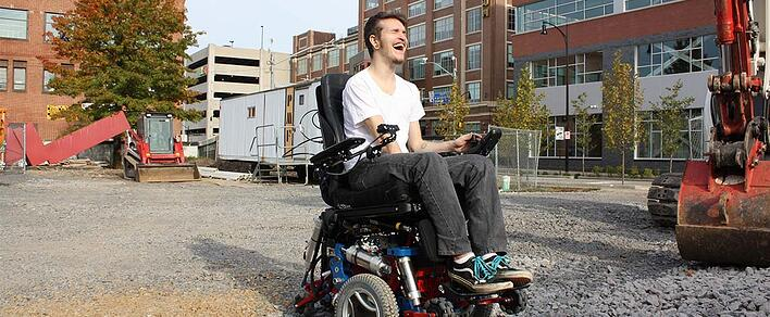 HERL Develops Technology to Provide New Opportunities to Wheelchair Users