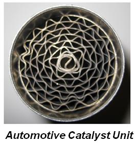 Automotive Catalyst Unit