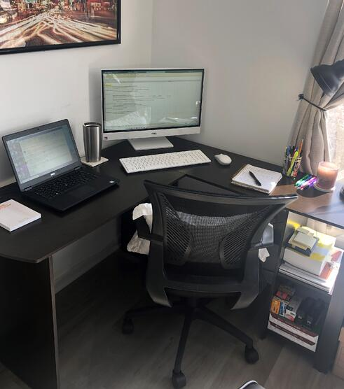 Staying Positive & Productive While Working Remote