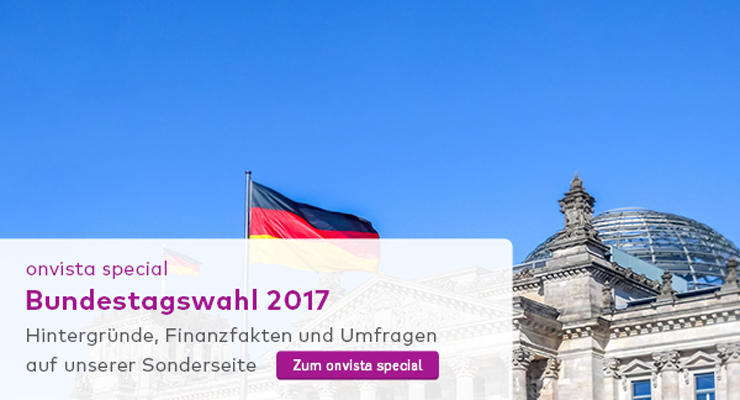 onvista special zur Bundestagswahl 2017