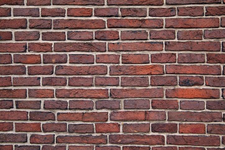 Solid foundation bricks