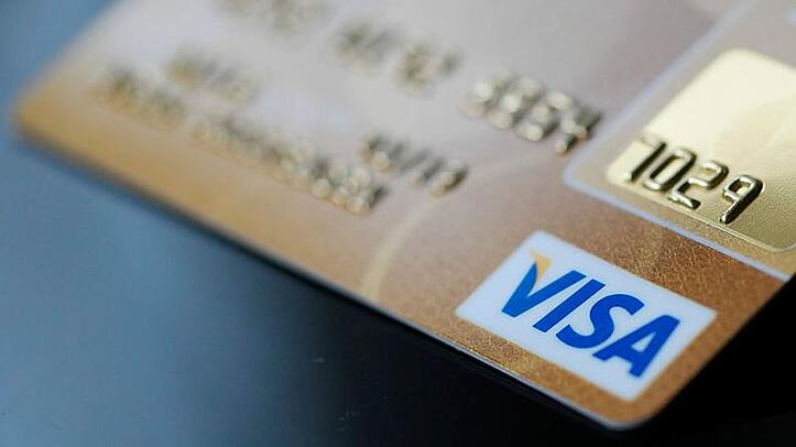 Visa credit card image
