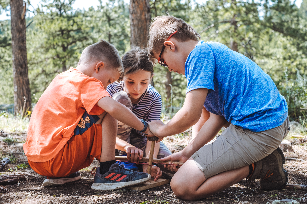 survival skills camp