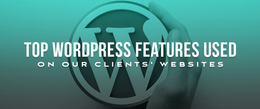 Top WordPress Features Used on Our Clients' Websites