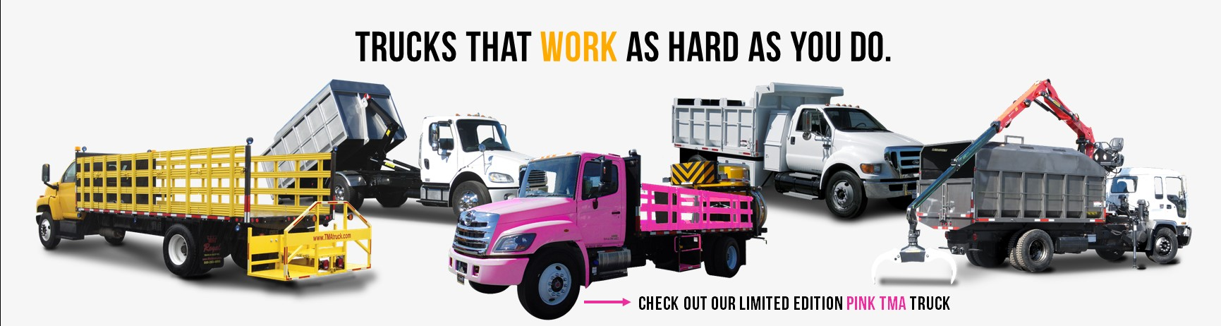 Check out Royal's limited edition Pink TMA Truck