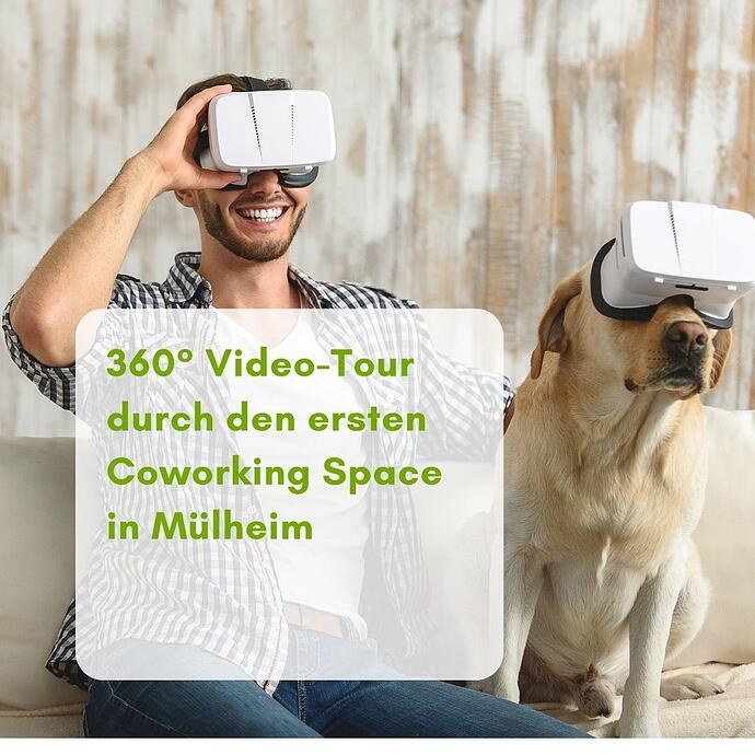360° Video-Tour mit Lena durch das Work Inn Mülheim